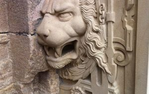 Lion at the Lower Castle Gate of Tübingen (Germany) - Time for Investors to Hunker Down