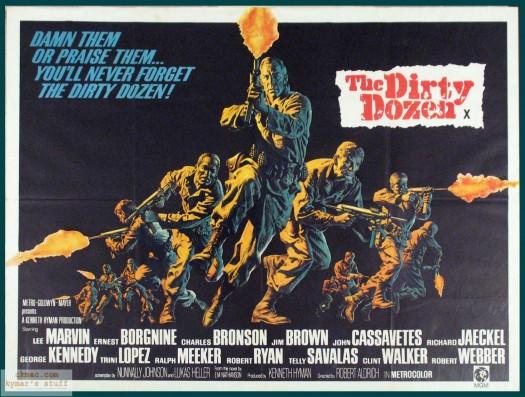The Dirty Dozen (movie not FATCA)