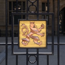 Luxembourg Grand Ducal Palace, Coat of arms Lion