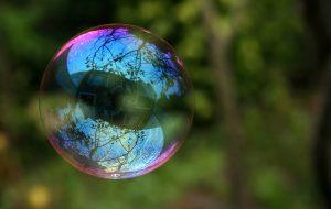 A soap bubble - debt bomb