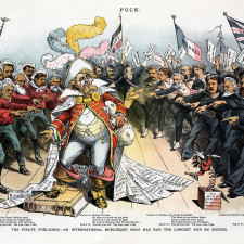 Joseph Ferdinand Keppler - The Pirate Publishe - Restoration by Adam Cuerden - Trusts