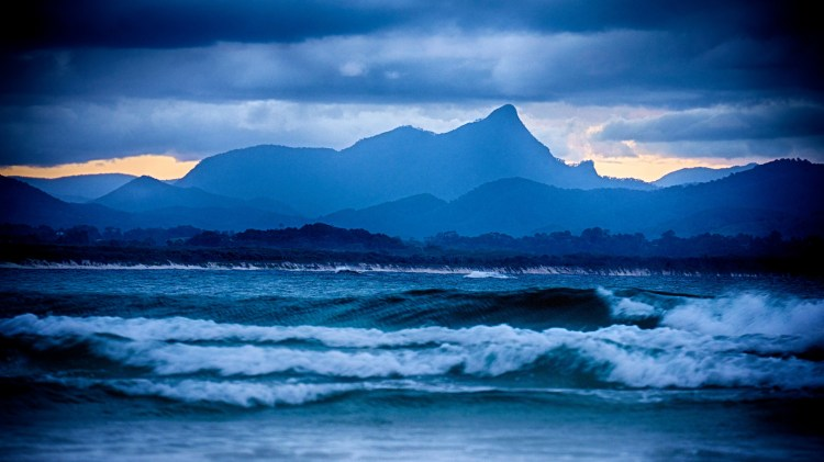 Mountains behind Byron Bay, Australia