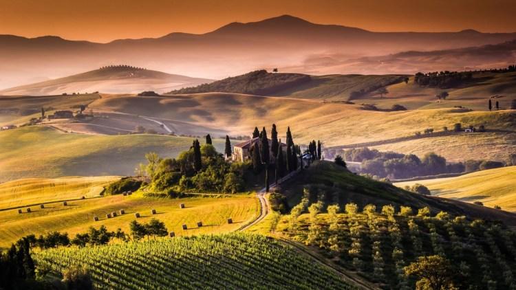 Tuscany, Italy Landscape - Investments