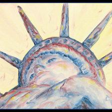 Lady Liberty immigrants