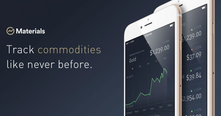 materials tracking for commodity traders
