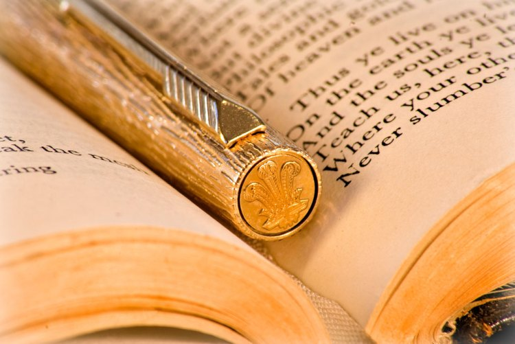 golden pen - spot gold