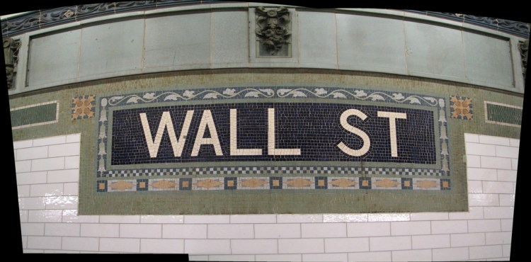 Wall Street subway station