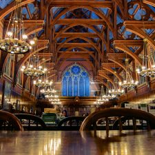 Harvard Dining Hall - World University Rankings