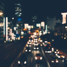 urban night blur by the economist