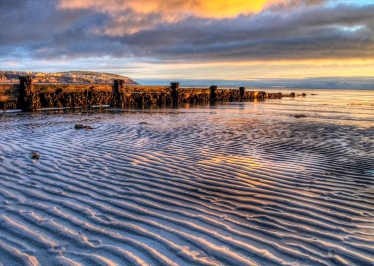 beach at Douglas, Isle of Man, at Dawn - Is it a tax haven?