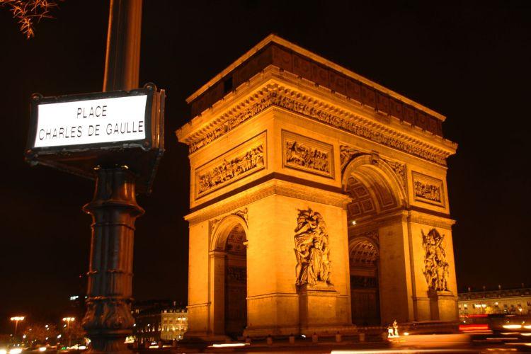 Monetary - Paris. Place Charles de Gaulle