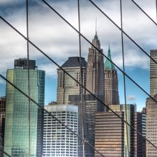 NYC - View from the Brooklyn Bridge for TradersEXPO