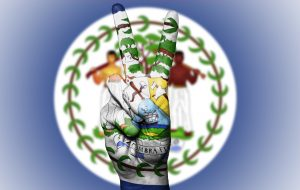 Belize peace for flag