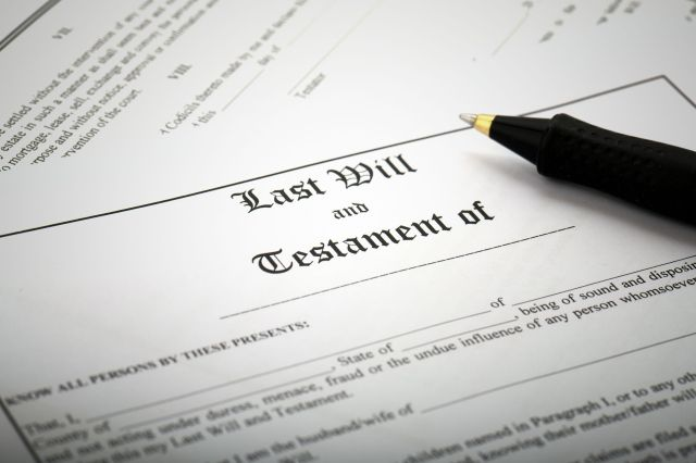 Last Will and Testament Definition