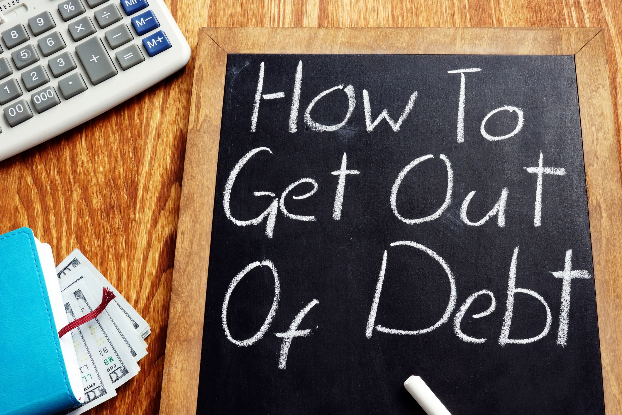 Top 5 Steps For Getting Out of Debt