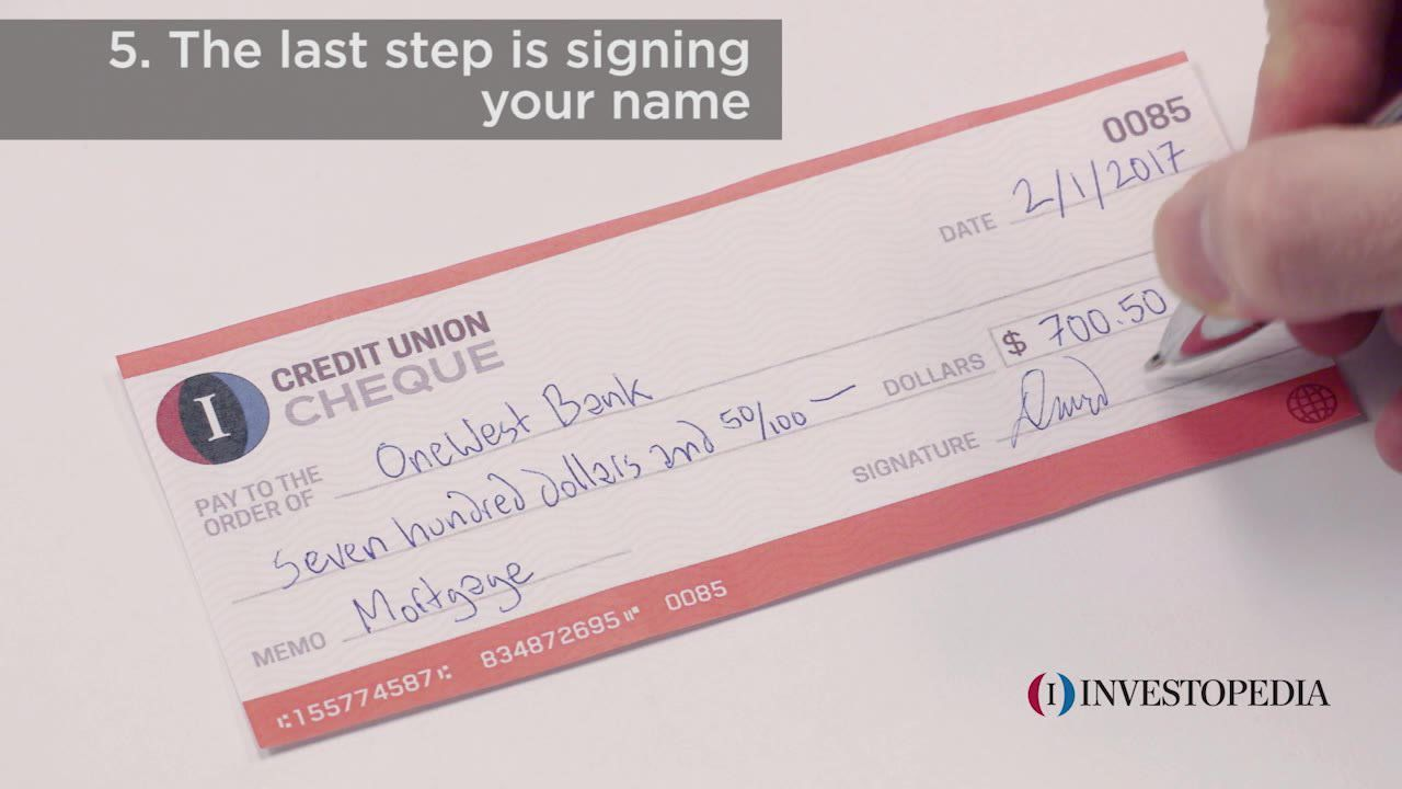 hight resolution of how to write a check in 5 easy steps