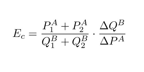 small resolution of cross elasticity of demand formula