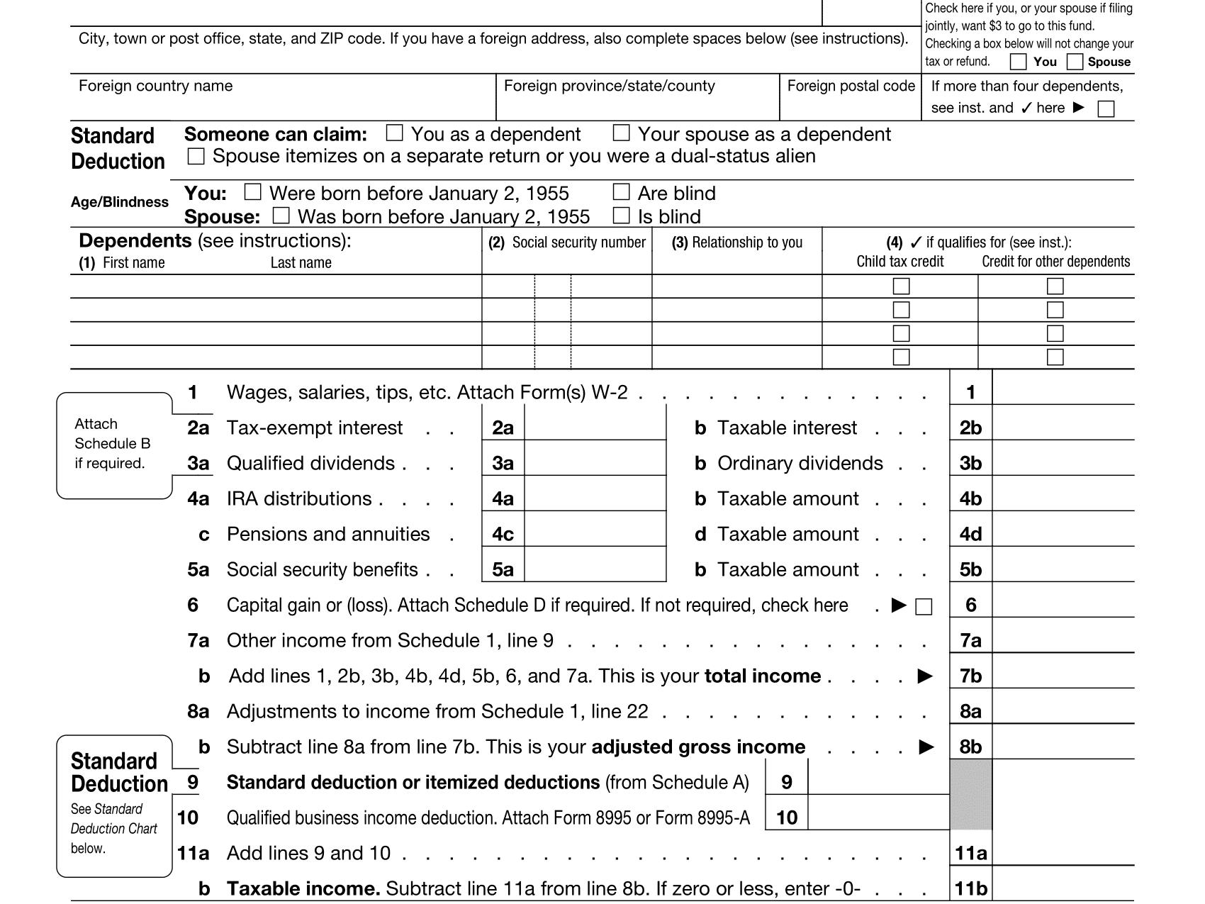 Irs Gov Ez Tax Table