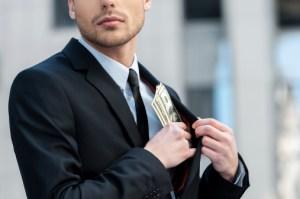 broker misappropriating client money