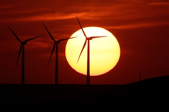 Andrew Bellak of StakeHolders Capital likes clean energy ETFs that have exposure to such alternative energy sources as wind turbines.