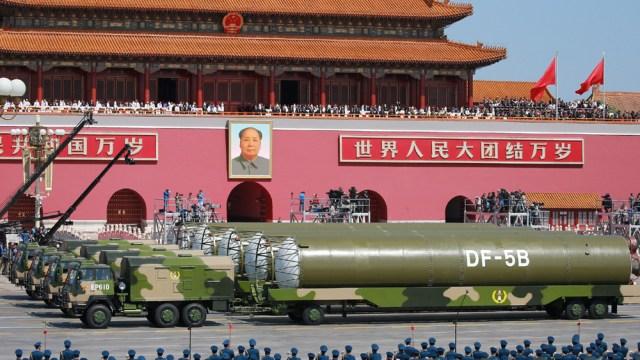 Image result for nuclear china missiles