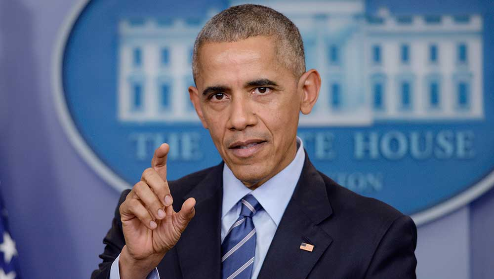 "In his final press conference, President Obama decried the ""fake news"" he says hurt Hillary Clinton's campaign, but didn't say anything about the left-leaning media's decades-long near-monopoly on mainstream news. (dpa/picture-alliance/Newscom)"
