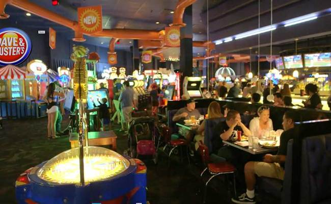 Beer Wings And Fighting Robots Work For Dave Buster S