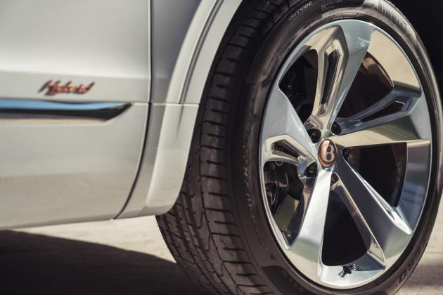 Bentley Bentayga Hybrid wheels