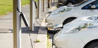 EV charging stations with Google Maps