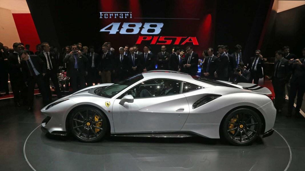 The Ferrari 488 Pista