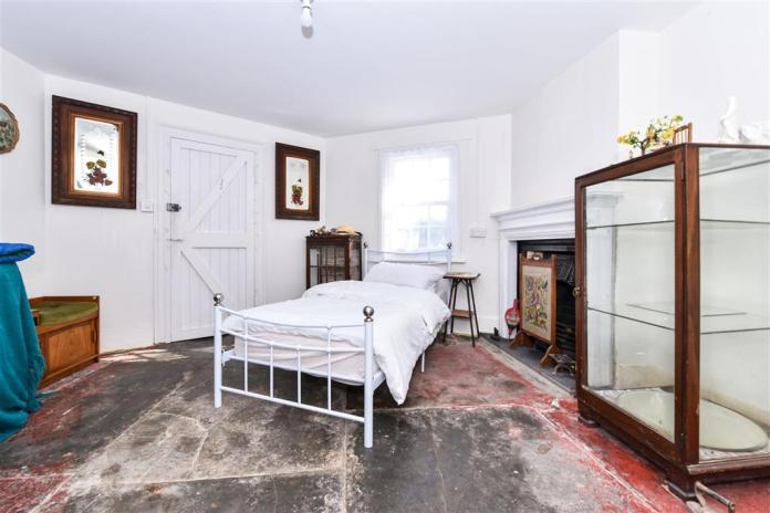Bedroom at the former toll house