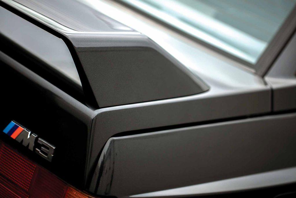 1990 BMW M3 spoiler