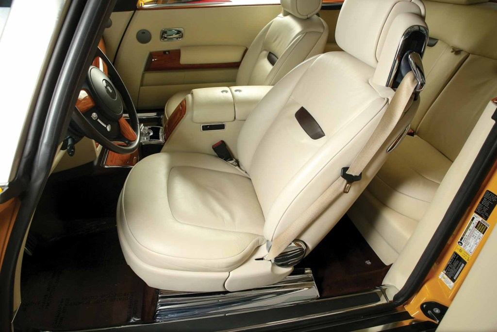 2008 Rolls Royce Phantom Drophead Coupe Bijan interior