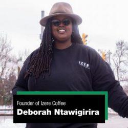 Deborah Ntawigirira, Founder of Izere Coffee