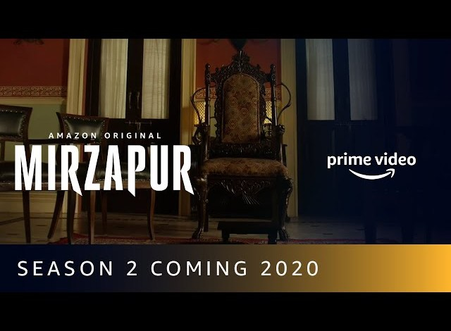 Amazon Prime Mirzapur Season 2 Cast and Plot Details and When Release