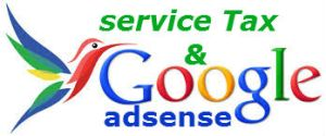 service tax on adsense income in india