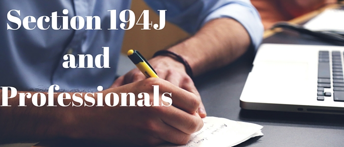 Section 194J: TDS on Professional & Technical Services