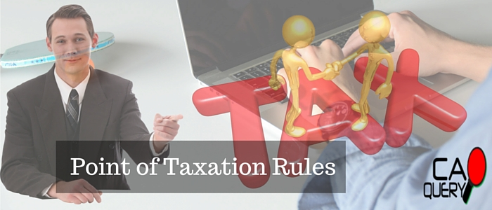 Point of Taxation Rules of Service tax 2016