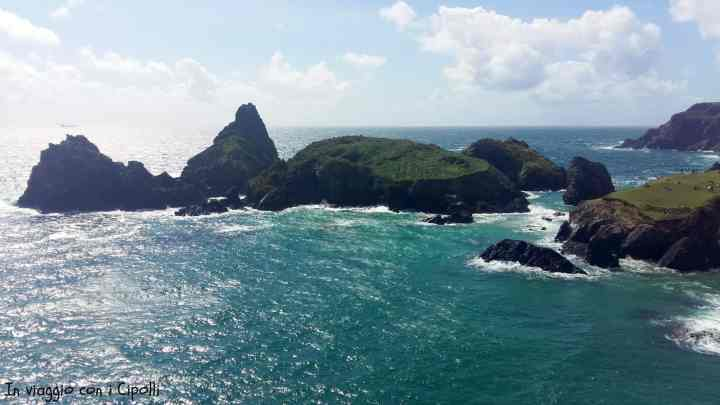 Scogliera a Kynance Cove