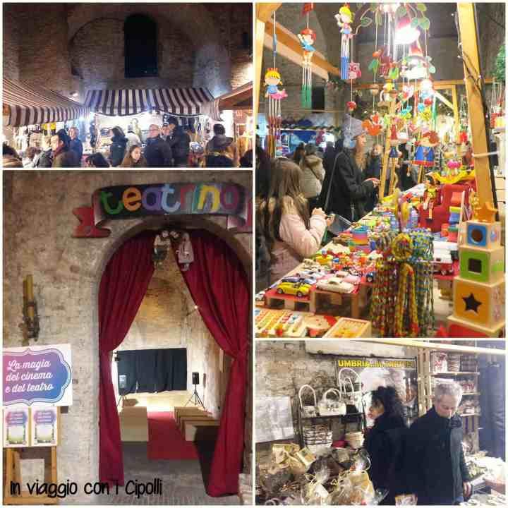 Natale in Umbria Perugia Rocca Paolina