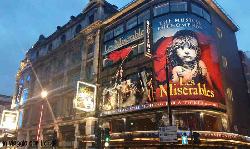 Londra con i bambini West End