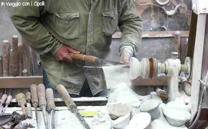 itinerario toscana laboratorio alabastro