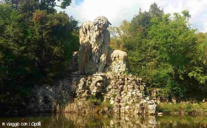 Parco Mediceo di Villa Demidoff Colosso dell'Appennino