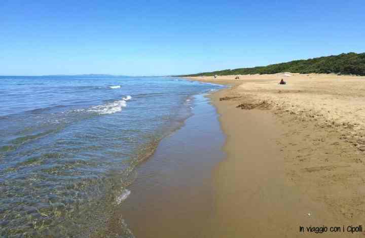 San Vincenzo con bambini - spiaggia libera