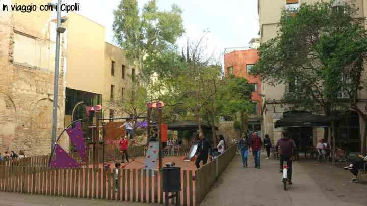 Barcellona con i bambini Barri Gòtic