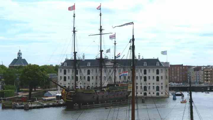 Amsterdam con i bambini Museo Marittimo