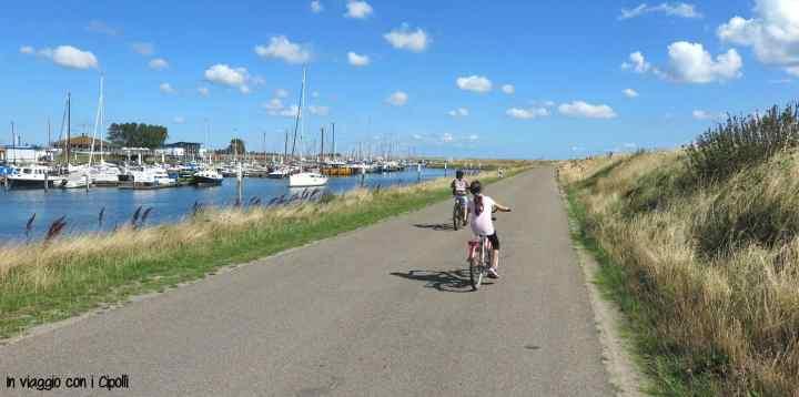 Texel in bicicletta
