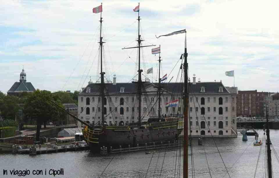 het scheepvaartmuseum amsterdam