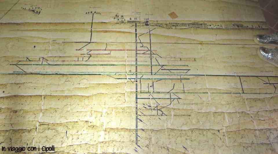 Montecatini Val di Cecina mappa miniera
