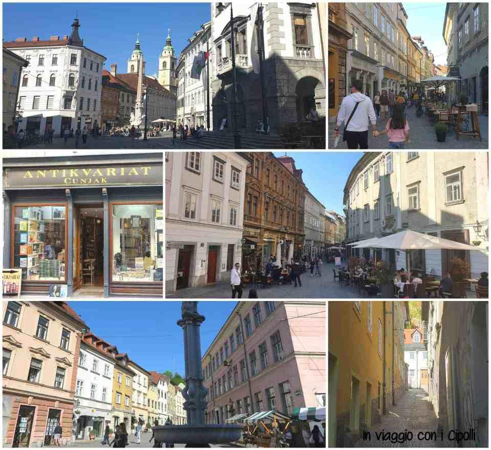Lubiana città vecchia